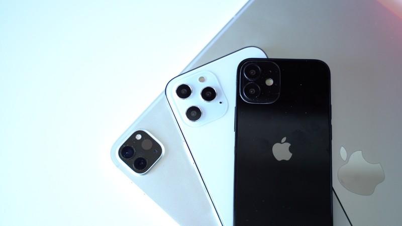 Lộ mô hình iPhone 12. Ảnh: MacRumors