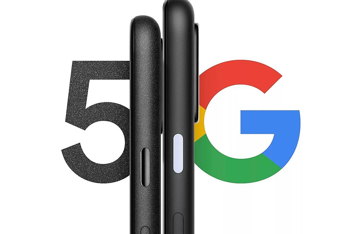 Google tham gia vào thị trường smartphone 5G với smartphone Pixel 5. Ảnh: Google.