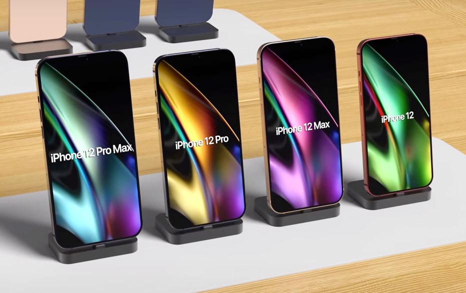 iPhone 12 sẽ không có màn hình 120 Hz. Ảnh: FonTech.