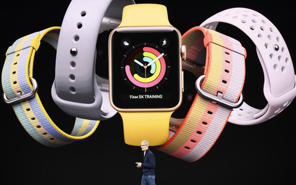 Apple Watch được xem là tương lai của Apple. Ảnh: Telegraph.