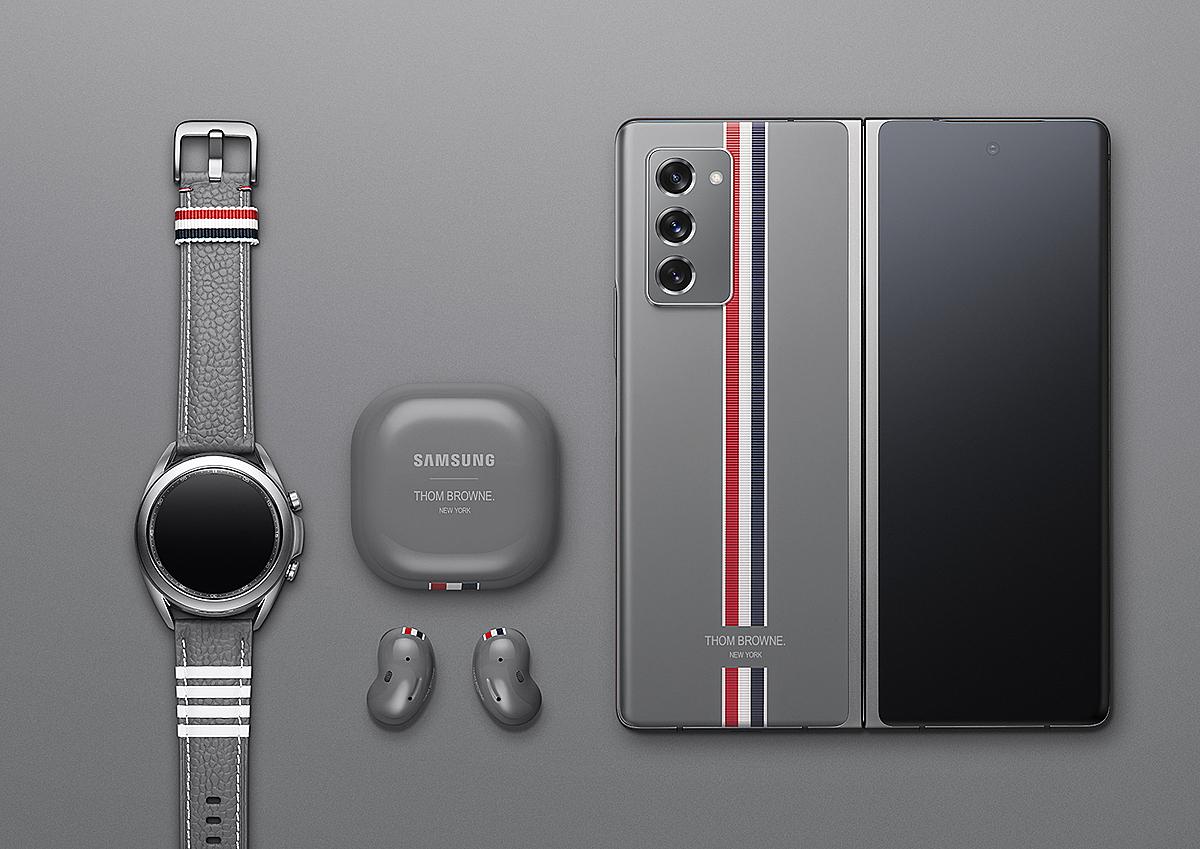 Phiên bản giới hạn Thom Browne. Ảnh: Samsung.