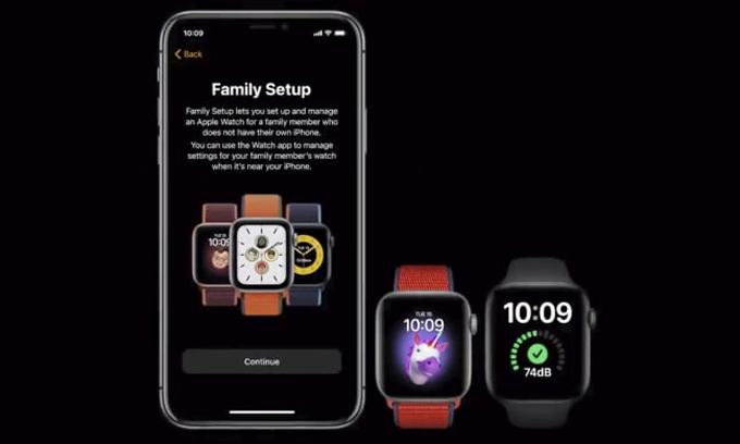 Sau thiết lập ban đầu, Apple Watch sẽ hoạt động độc lập. Ảnh: Apple.