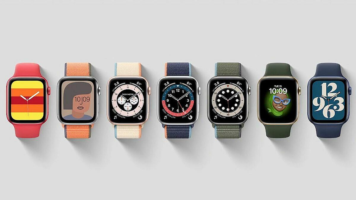 Nhiều màu sắc, thêm màu đỏ, xanh và vỏ đa chất liệu nhôm, thép, titan là điểm nhấn của Apple Watch series 6.