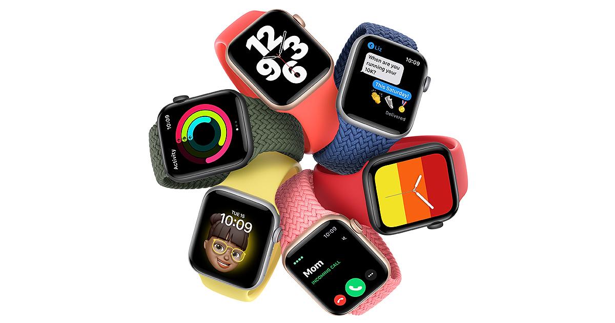 Watch SE chỉ có vỏ nhôm, dùng chip giống series 5 nhưng không còn tính năng đo điện tâm đồ ECG.