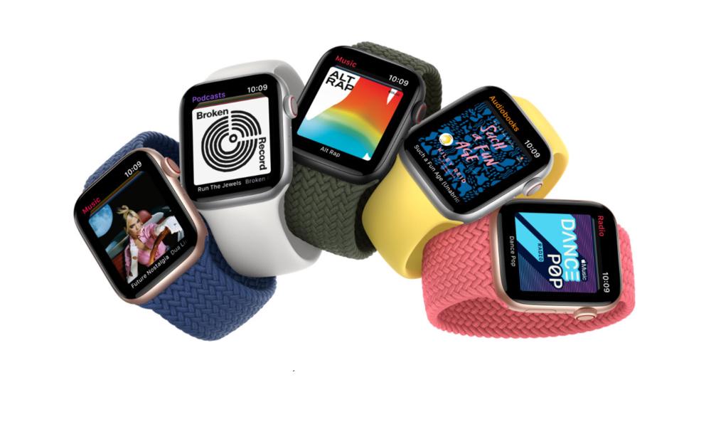Apple Watch SE có ngoại hình tương tự Watch Series 6.