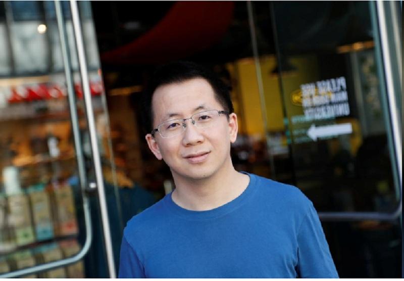 Zhang Yiming, CEO ByteDance, công ty đứng sau TikTok. Ảnh: Reuters.