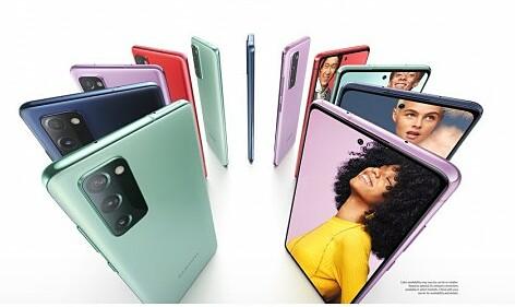 Galaxy S20 Fan Edition có nhiều màu sắc.