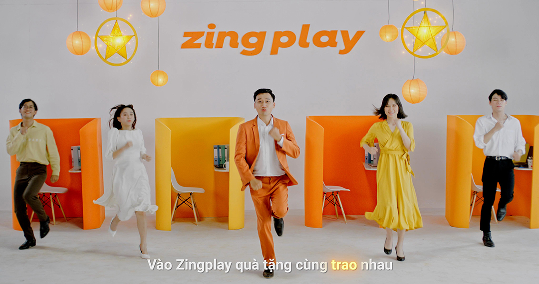 iễn viên Xuân Nghị trong MV ca khúc chủ đề của Trung thu ZingPlay.