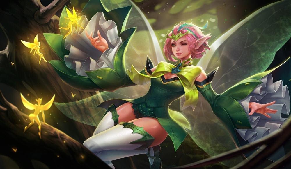 Một nhân vật nữ anh hùng trong game Arena of Valor, bản quốc tế của Honour of Kings. Ảnh: Arena of Valor.