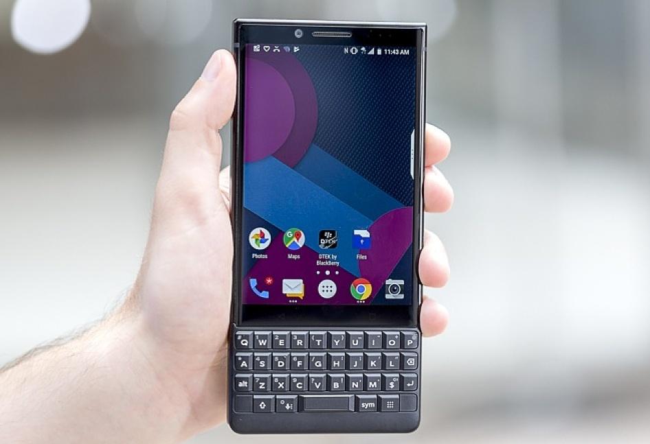 Giá BlackBerry Key2 vừa giảm 1/3. Ảnh: PCMag.