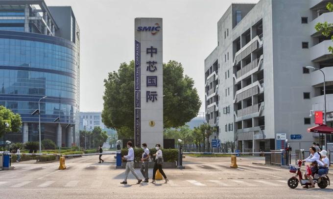 SMIC là nhà sản xuất chip lớn nhất Trung Quốc. Ảnh: SCMP.
