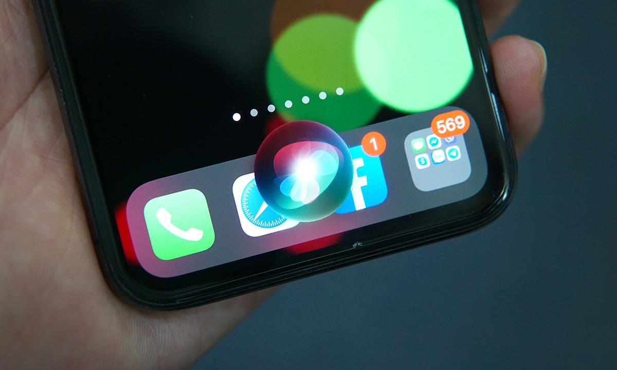Trợ lý ảo Siri của Apple hiện chưa hỗ trợ tiếng Việt. Ảnh: Lưu Quý