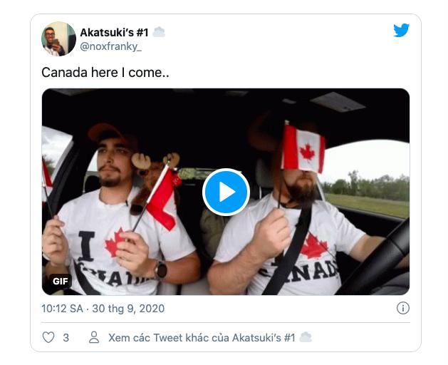 Người Mỹ tìm chuyển đến Canada trên Google