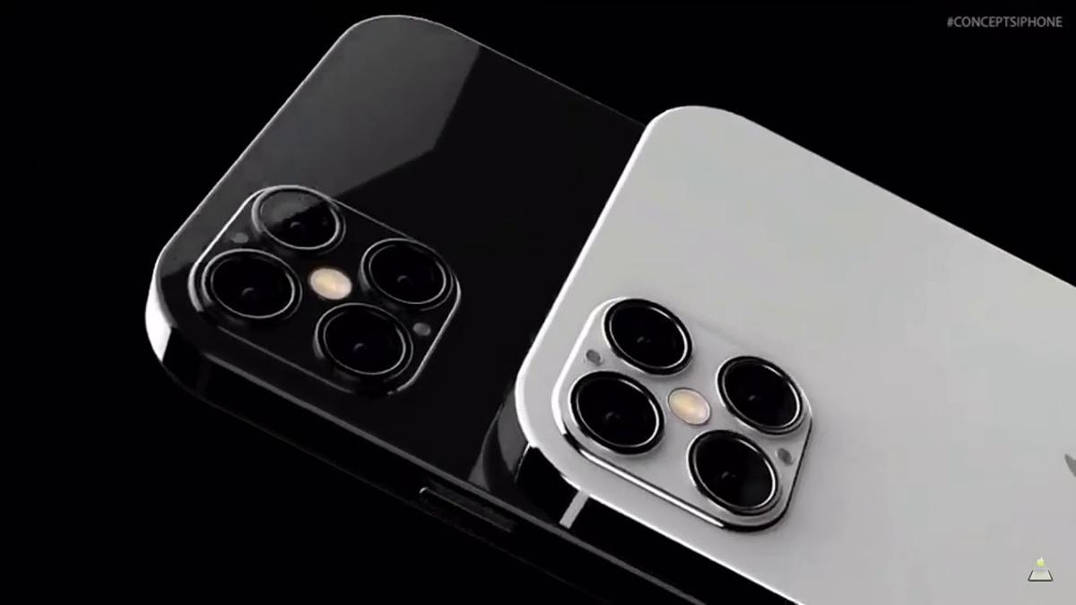 Thông số camera giữa iPhone 12 Pro và iPhone 12 Pro Max sẽ có khác biệt lớn. Ảnh: Concept iPhone.