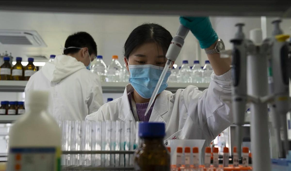 Việc nghiên cứu công nghệ đang được Trung Quốc đẩy mạnh. Ảnh: AP.