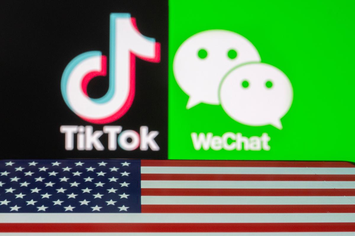 Mỹ coi TikTok và WeChat là mối đe dọa an ninh quốc gia. Ảnh: Reuters.