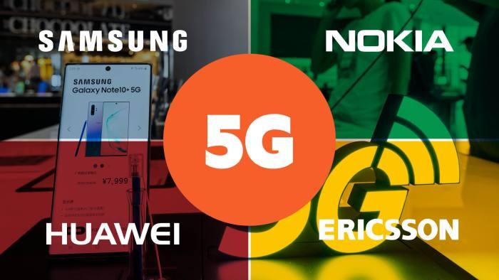 Huawei có thể trở thành một trong bốn nhà cung cấp thiết bị 5G lớn nhất trong tương lai. Ảnh: FT.