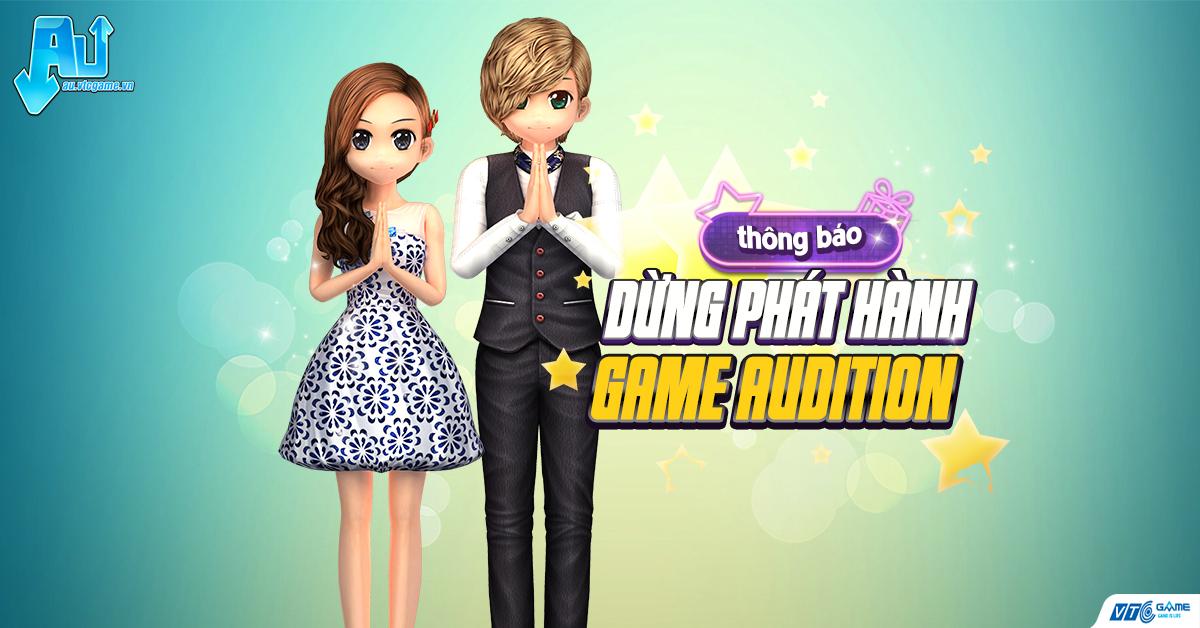 VTC Game thông báo dừng phát hành Audition tại Việt Nam sau 14 năm hoạt động.