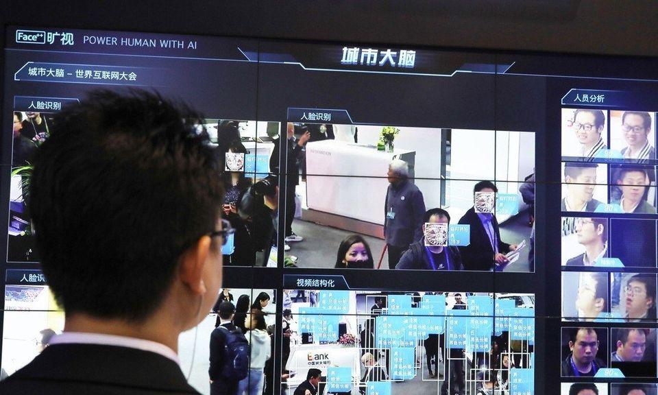 Hệ thống nhận diện khuôn mặt được công ty Megvii ra mắt năm 2018. Ảnh: SCMP.