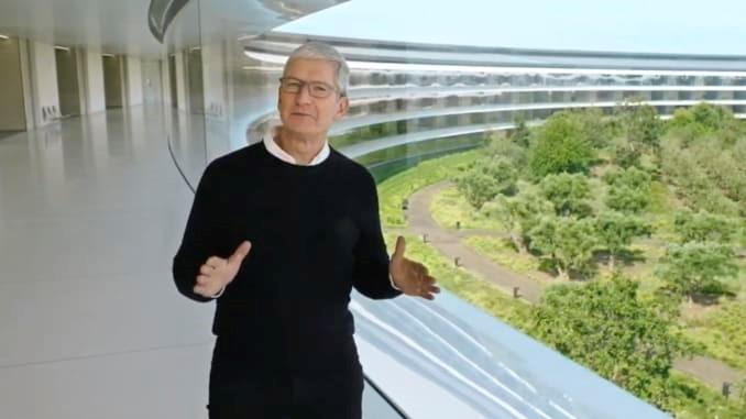 Tim Cook, CEO Apple, trong sự kiện hồi tháng 9. Ảnh: Apple.