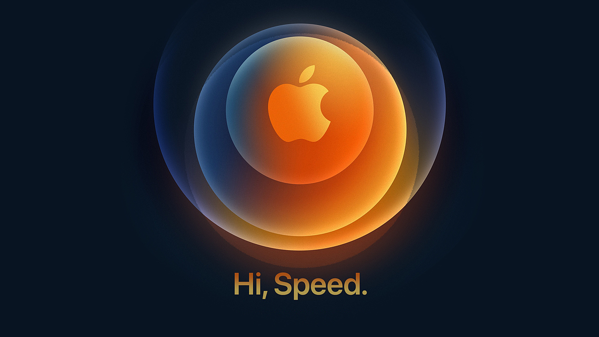 Thư mời sự kiện trực tuyến ngày 13/10 (giờ Hà Nội) của Apple nhấn mạnh vào tốc độ.