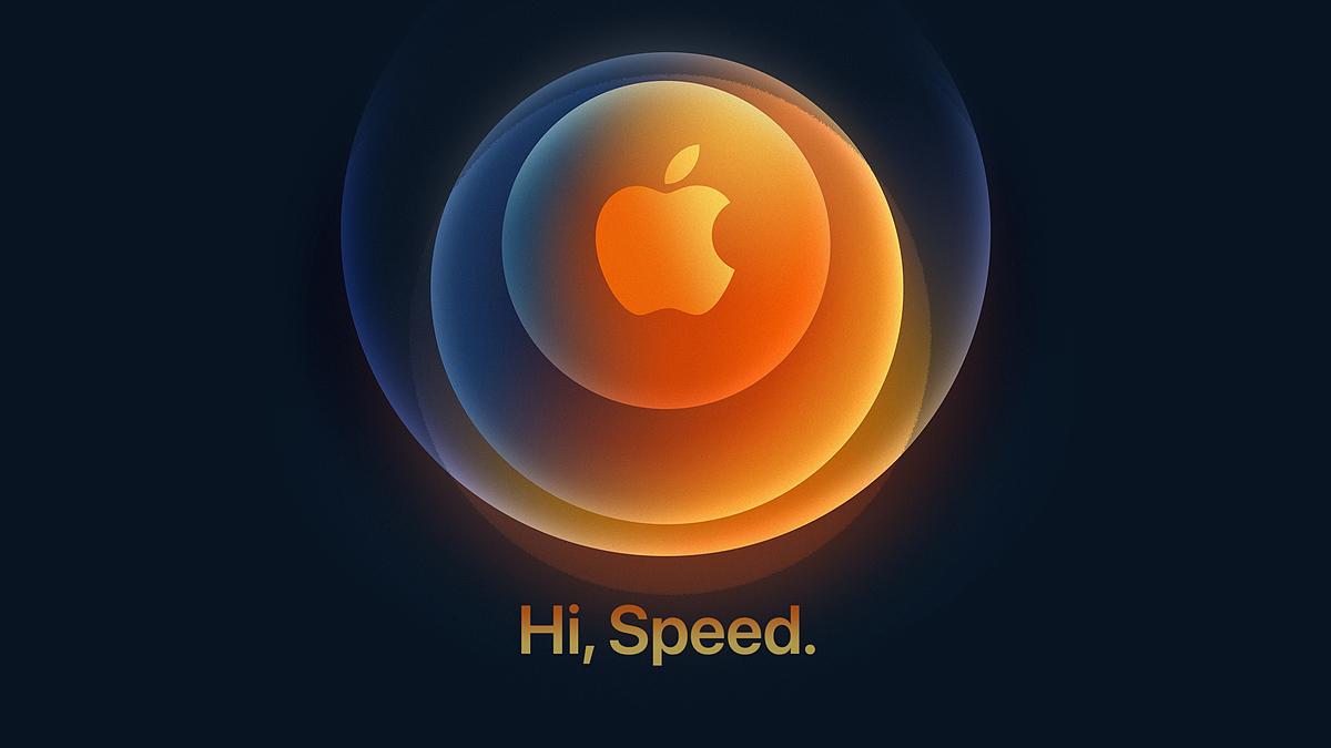 Apple's October 13 (Hanoi time) online event invitation emphasizes speed.