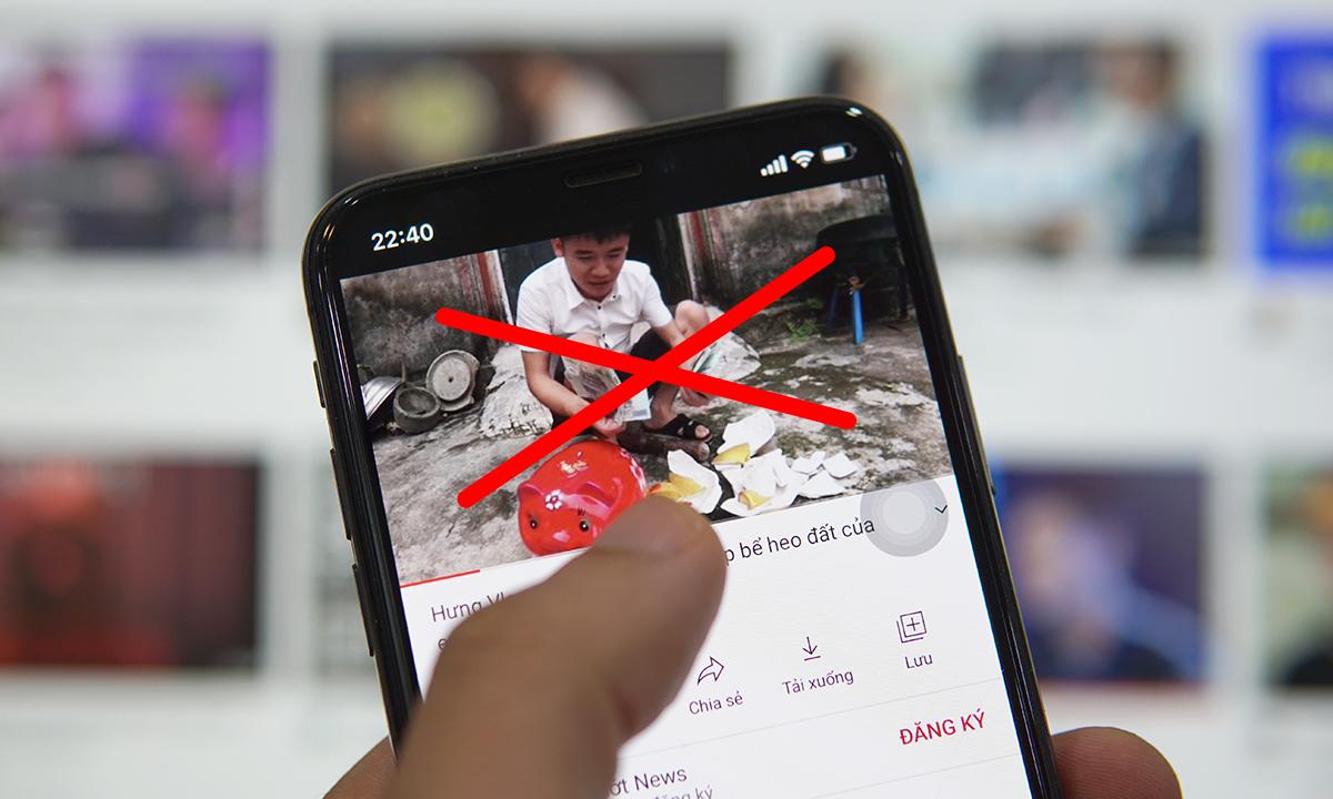 Nguyễn Văn Hưng nhận sai khi làm video nhảm nhí.