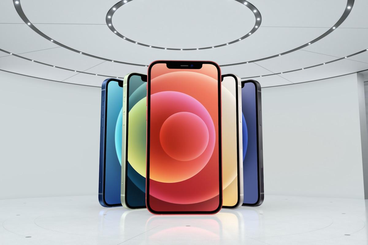 Tất cả iPhone 12 mới ra mắt đều được trang bị 5G.