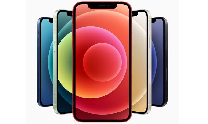 iPhone đang trải dài trên các phân khúc từ 400 USD đến 1.100 USD. Ảnh: Apple.