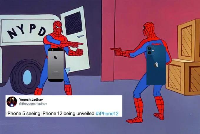 Khi iPhone 5 gặp iPhone 12.