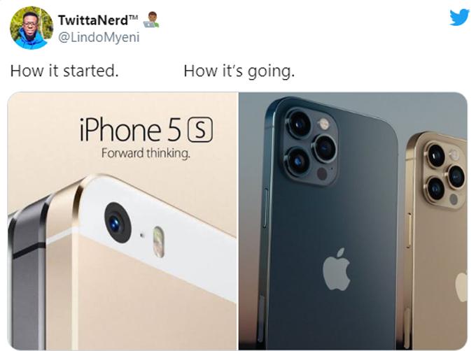 Sau nhiều năm liên tục cả tiến và thay đổi kiểu dáng, Apple cuối cùng vẫn quay về kiểu thiết kế các cạnh vuông vắn và bo cong ở bốn góc của năm 2012.