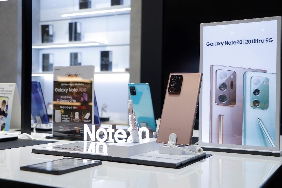 FPT Shop giảm giá đến 4 triệu đồng cho Galaxy Note20 Ultra nhân dịp 20/10. Ảnh: FPT Shop.