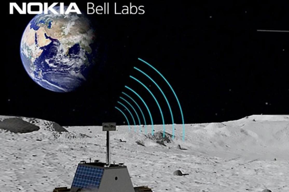 Nokia Bell Labs sẽ hợp tác với công ty kỹ thuật tàu vũ trụ Intuitive Machines để xây dựng mạng 4G-LTE. Ảnh: ABPlive.