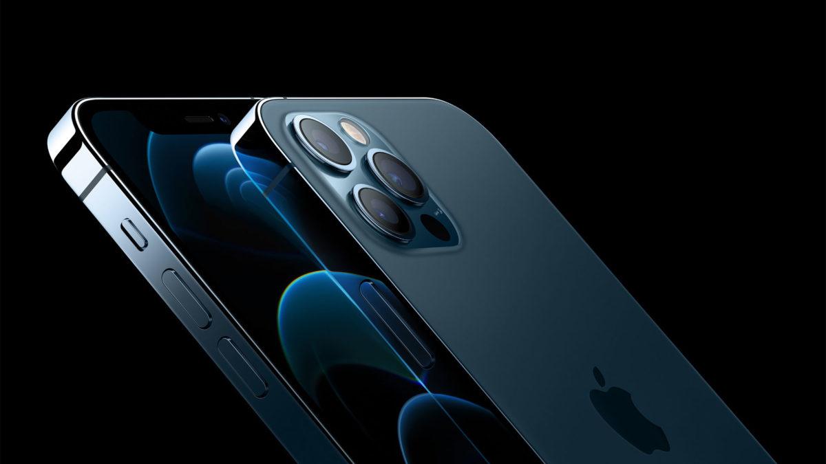 iPhone 12 Pro Max nổi bật về sự bóng bẩy. Ảnh: Apple.