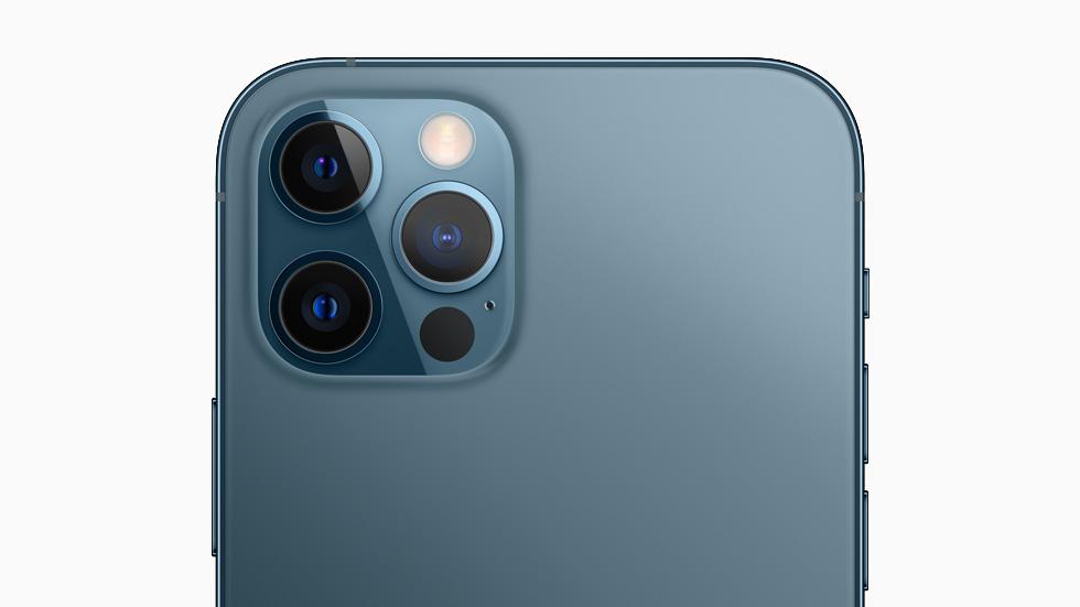 Hệ thống camera trên iPhone 12 Pro Max hứa hẹn mang lại những bức ảnh chất lượng. Ảnh: Apple.