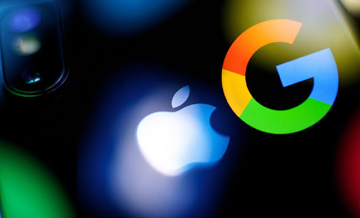 Google đã trả hàng tỷ USD cho Apple để được đặt trình tìm kiếm mặc định. Ảnh: RT.