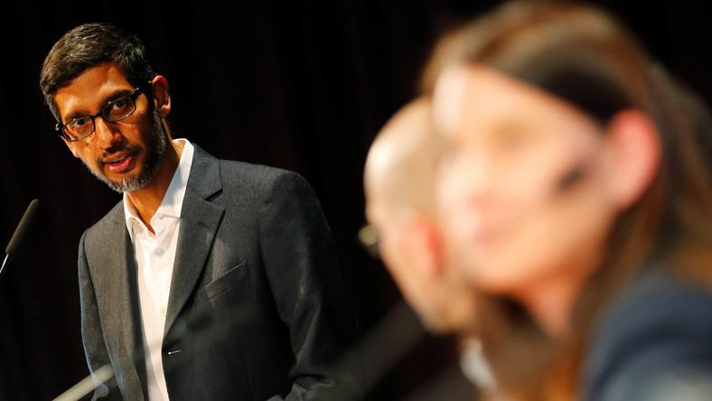 Pichai sẽ đối mặt với thử thách lớn nhất trước chính phủ Mỹ kể từ sau khi nắm quyền điều hành Google. Ảnh: Reuters.