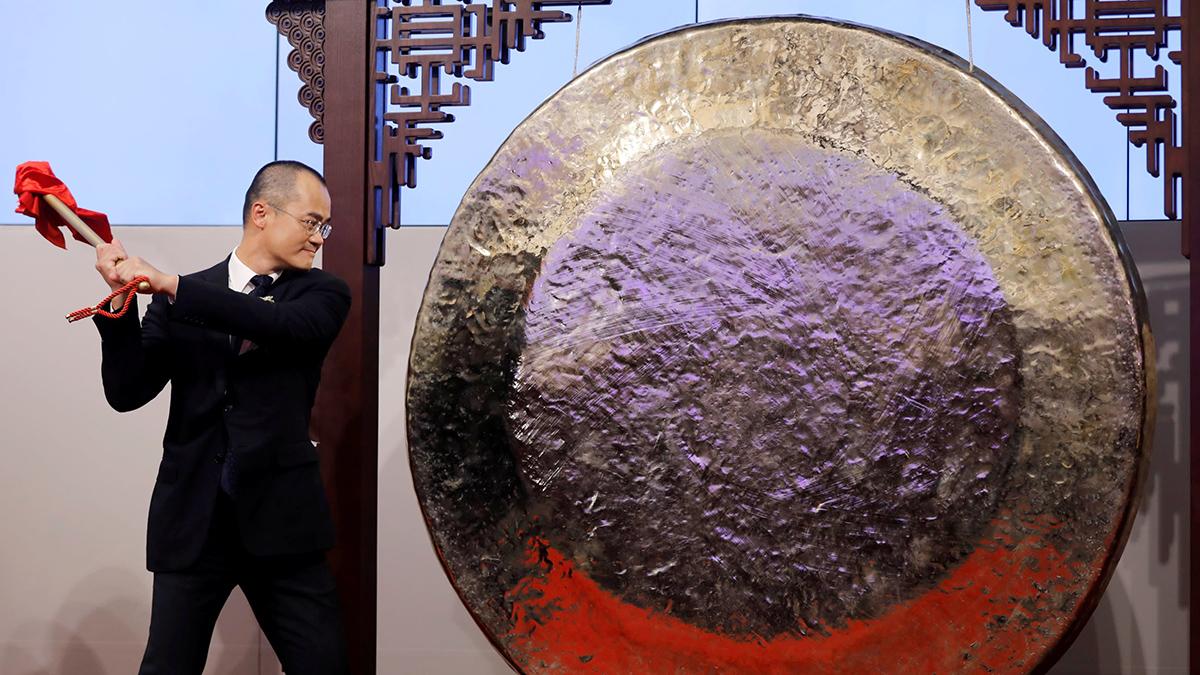 Wang Xing, CEO của Meituan. Ảnh: Reuters.