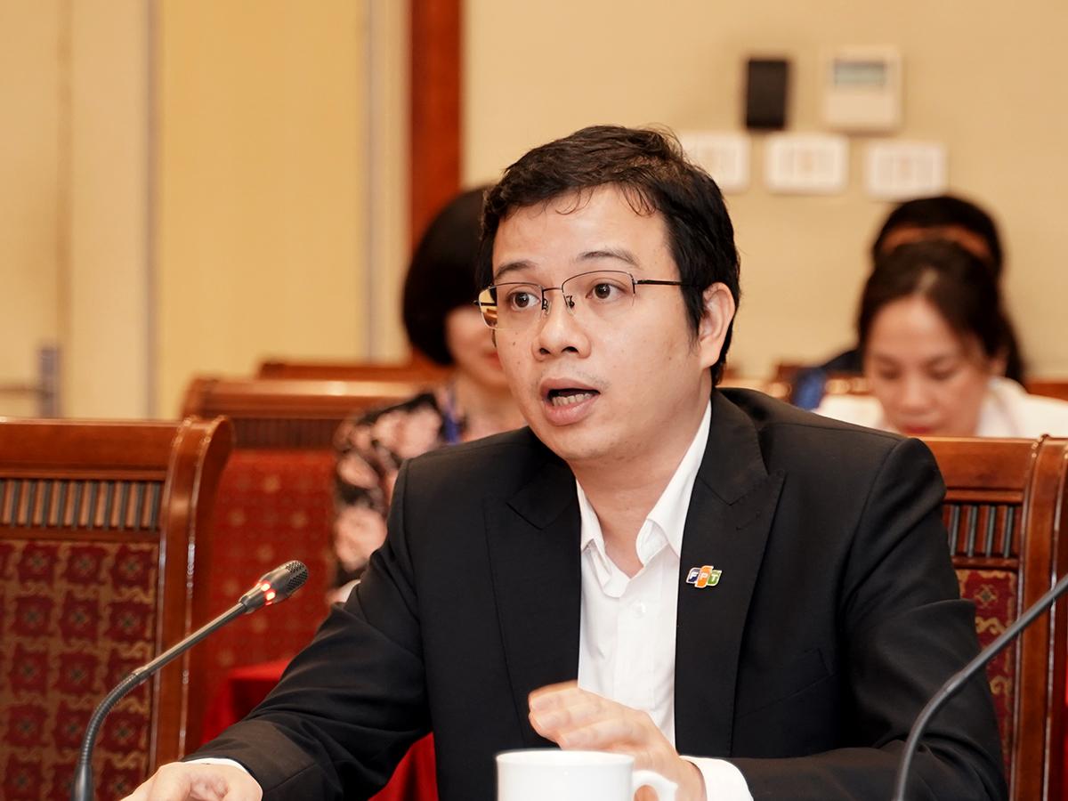 Ông Nguyễn Ngọc Minh, Phó Tổng Giám Đốc Công ty TNHH FPT Smart Cloud. Ảnh: Lưu Quý.