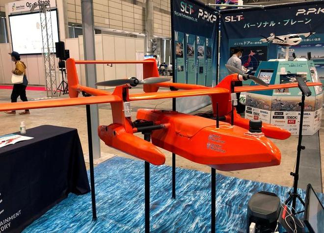 Một drone trang bị cảm biến hiện đại do Nhật Bản sản xuất. Ảnh: Reuters.