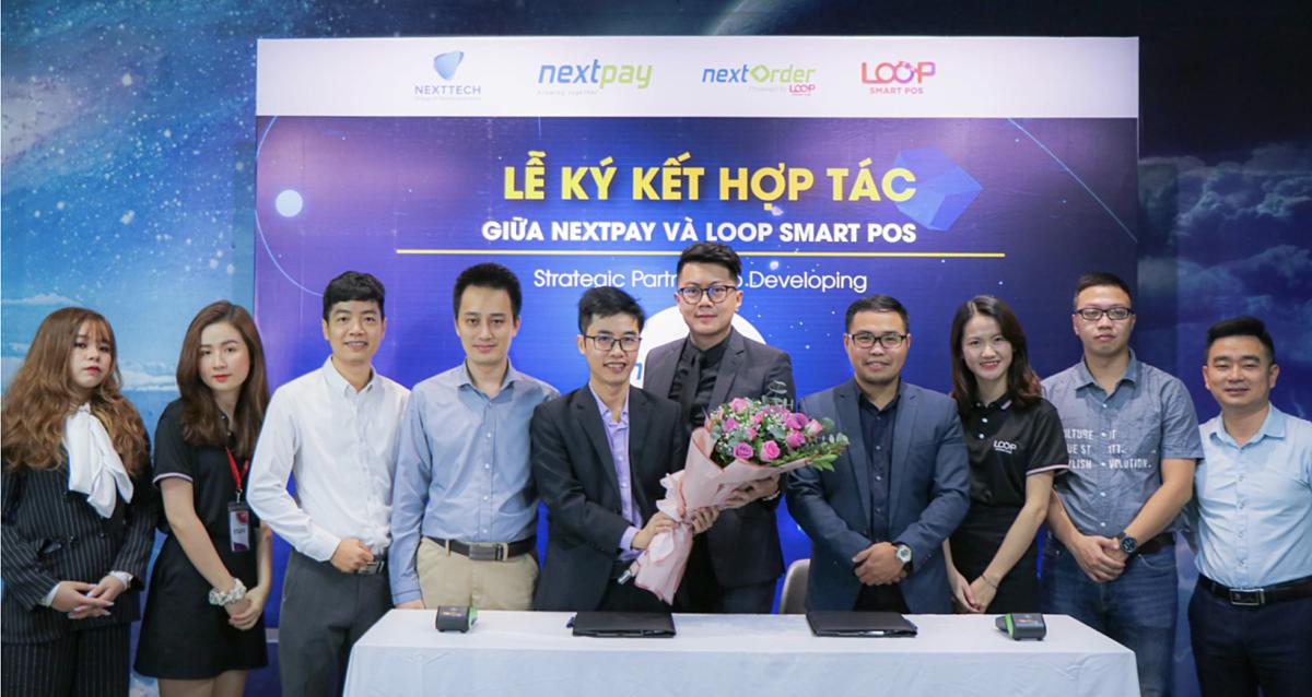 Lễ ký kết hợp tác giữa Nextpay và Loop smart Post.