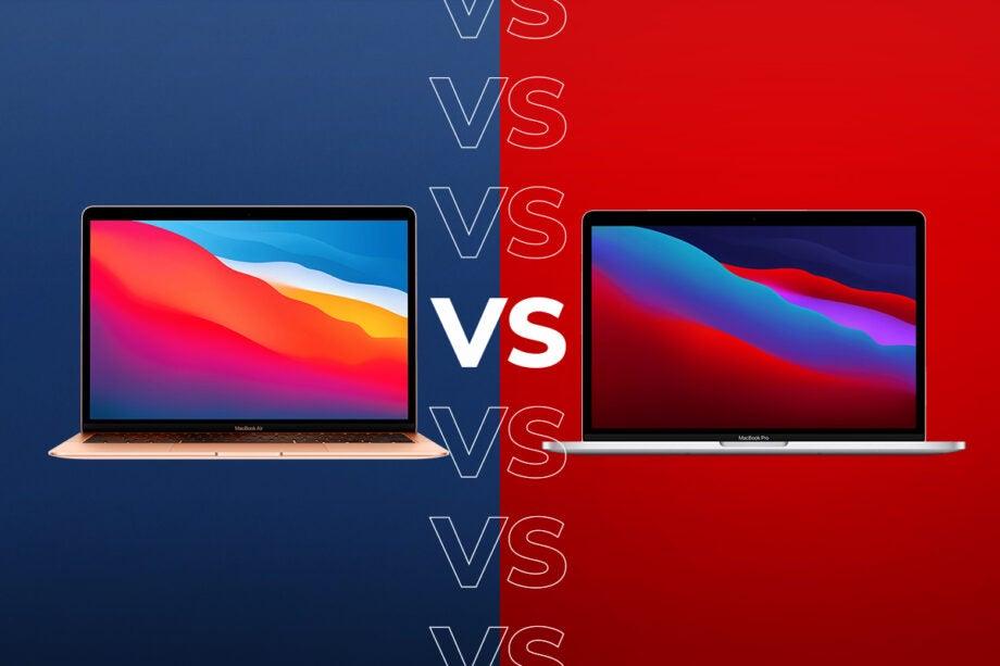 Macbook Air mới có hiệu năng tương đương Macbook Pro 13 nhưng không duy trì được lâu bằng. Ảnh: Trustedreview.