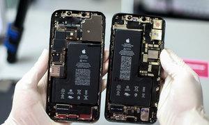 So 'nội thất' iPhone 12 Pro Max và 11 Pro Max