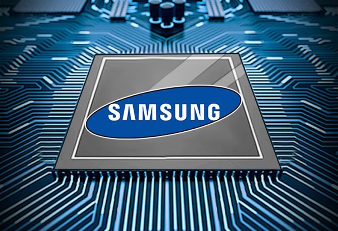Samsung đang đẩy mạnh mảng sản xuất chip bán dẫn. Ảnh: GizChina.