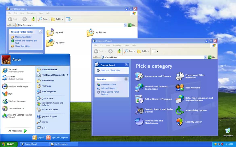 Phiên bản Windows XP (2001) kết hợp tính năng cho cả người dùng cá nhân lẫn doanh nghiệp, được thiết kế cho máy khách và máy chủ trong doanh nghiệp.