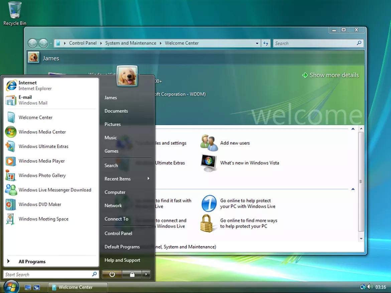 Giống phiên bản ME, Windows Vista (2007) không được đông đảo người dùng đón nhận. Microsoft mất khoảng 6 năm phát triển Vista với giao diện người dùng Aero mới và cải thiện tính năng bảo mật. Tuy nhiên, Vista lại chỉ hoạt động tốt trên phần cứng mới. Bên cạnh đó, việc kiểm soát tài khoản người dùng cũng bị chỉ trích nặng nề. Do đó, Windows Vista trở thành một trong những sản phẩm bị đánh giá tệ của Microsoft.