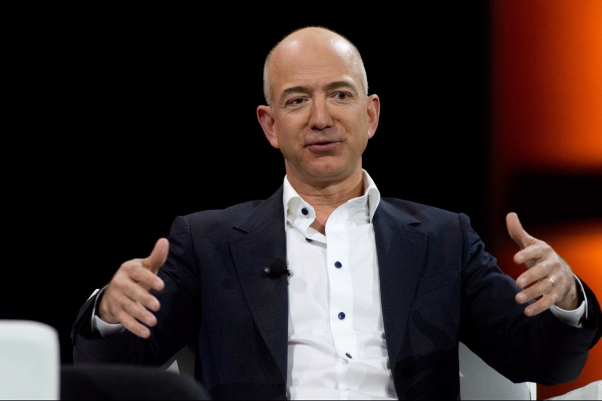 CEO Amazon Jeff Bezos. Ảnh: Reuters.