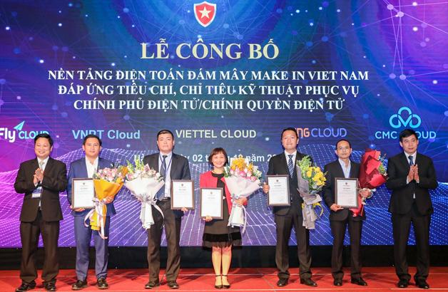 Các doanh nghiệp nhận chứng nhận nền tảng điện toán đám mây.