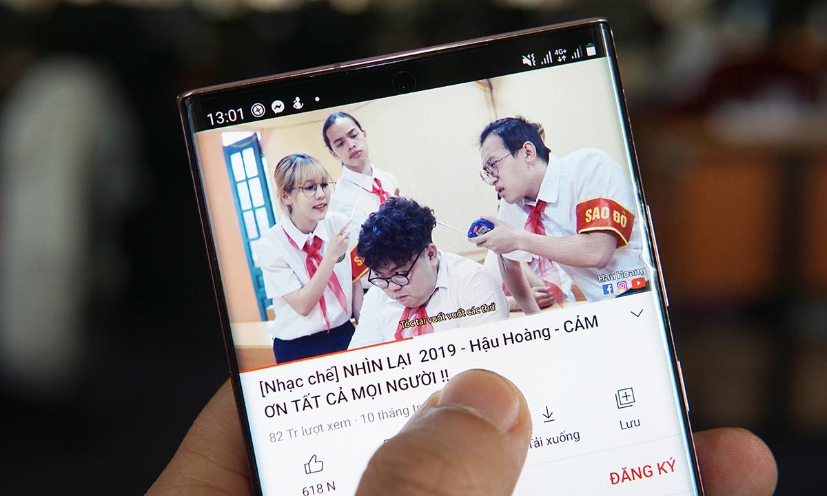 Nhạc chế tiếp tục là dạng video được YouTube xếp hạng cao tại Việt Nam.