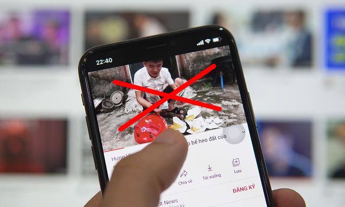 Video nhảm là vấn nạn trên YouTube trong năm nay. Ảnh: Lưu Quý